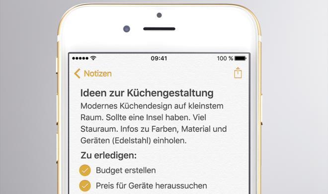 iOS-9-Tipps: So nutzt du Notizen und Erinnerungen effektiver