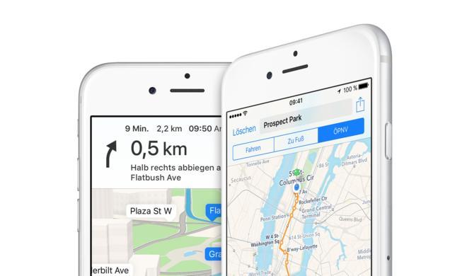 Apple Maps: Dreimal mehr auf iOS genutzt als Google Maps