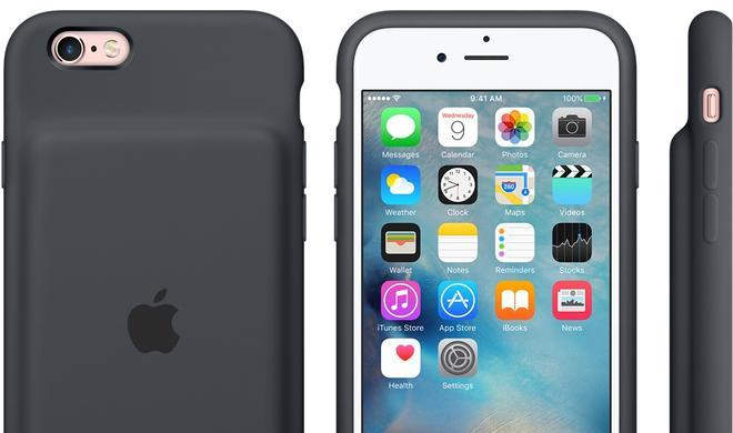 Offizieller iPhone-Zusatzakku: Apple enthüllt Wundermittel gegen leere iPhone-Akkus