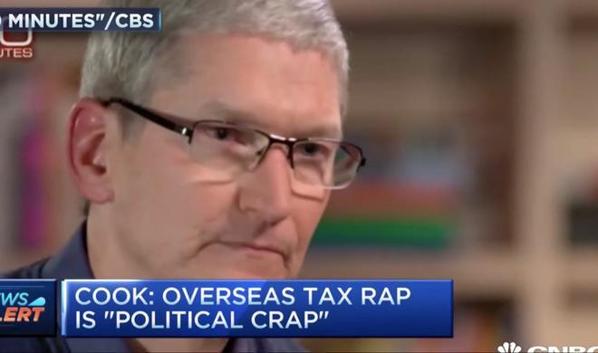 """Tim Cook nennt Steuer-Vermeidungsvorwürfe """"politischen Schwachsinn"""""""