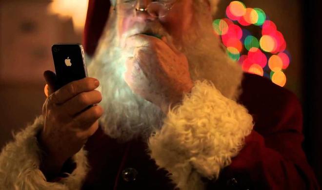 Was macht Siri an Weihnachten?