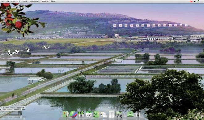 Nordkoreas Betriebssystem Red Star gleicht OS X
