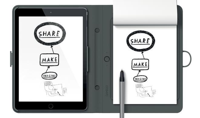 Wacom kündigt Handschrift-in-Text-Funktion für Bamboo Spark Notizbuch an