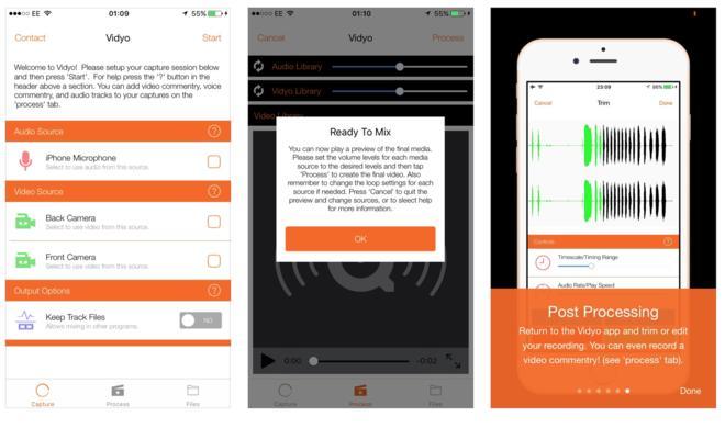 Vidyo: iOS-App für Bildschirmaufnahmen