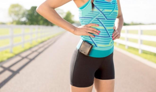 Ampy lädt das iPhone durch Joggen und Radfahren durch eure Bewegung