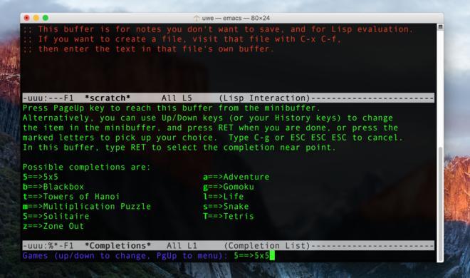 Spaß und Spiel mit dem Terminal am Mac