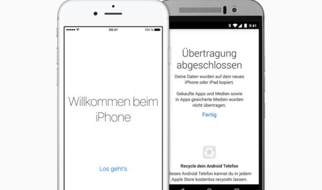 Apple dementiert Entwicklung eines Android-zu-iPhone-Werkzeugs