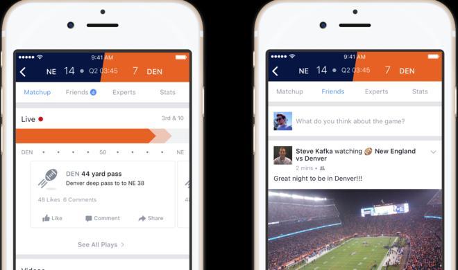 Facebook Sports: Stadion im Sozialen Netzwerk – vorerst nur für iOS