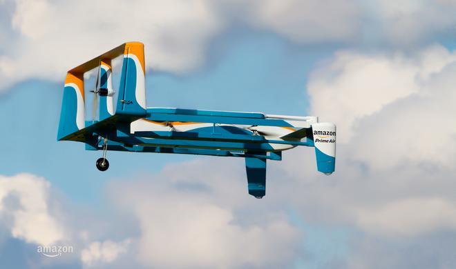 Video: So liefert die Amazon-Drohne Pakete aus