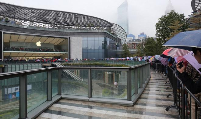 Guangzhou: 32. Apple Store Chinas neu eröffnet