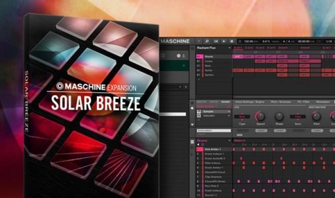 NI Solar Breeze: Die erste Indie-Electronica-Expansion für Maschine