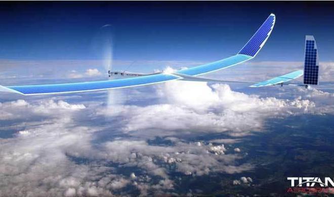 Google testet Mobilfunknetz mit solarbetriebenen Drohnen