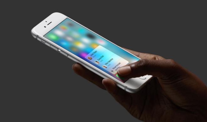 Patent verrät neue Ebene von 3D Touch