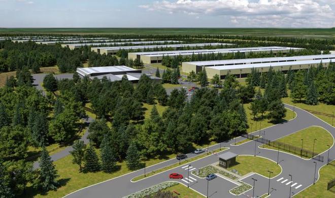 Bau von Apples Rechenzentrum in Irland liegt auf Eis