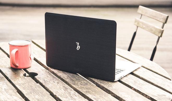 Holzfurnier für euer MacBook
