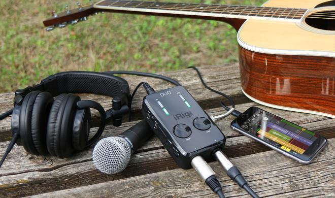 iPhone & iPad als kompaktes Tonstudio