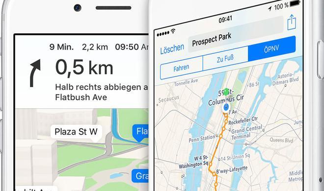 """iOS 10: """"Apple Street View"""" im Anmarsch"""