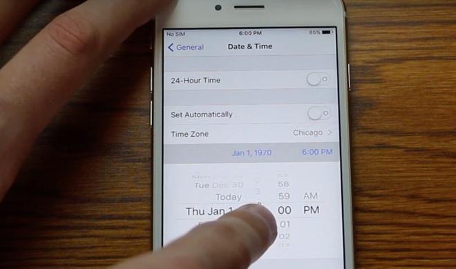 1.1.1970: Update soll iPhone-Tod durch Datums-Bug unmöglich machen