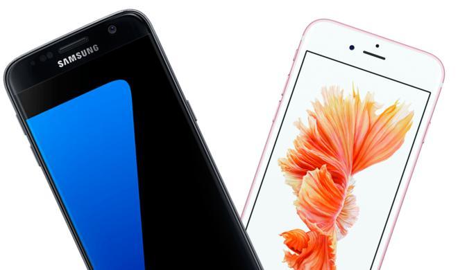 """Galaxy S7 gegen iPhone 6s: Hat das neue Samsung-Smartphone das Zeug zum """"iPhone-Killer""""?"""