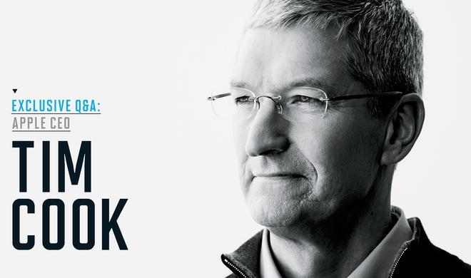 """Tim Cook: Apple erforscht das Auto und fürchtet """"peak iPhone"""" nicht"""