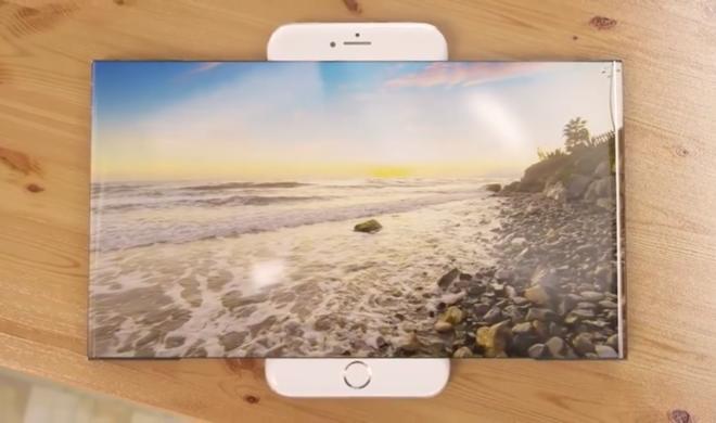 Designstudie: Das ausfahrbare Widescreen-iPhone