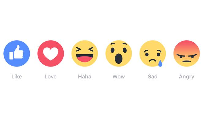 """Facebook-Reaktionen: Endlich mehr als """"Gefällt mir"""""""