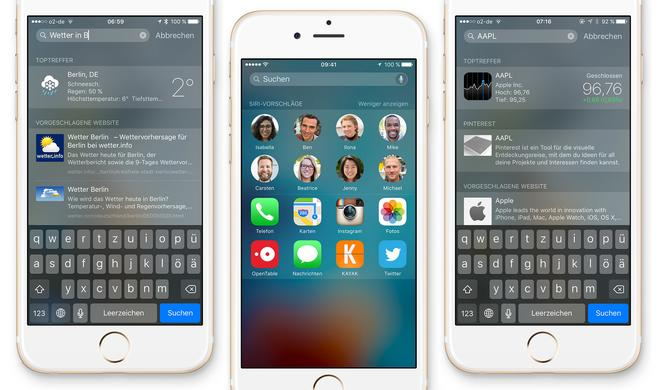 iOS-Tipp: Die Spotlight-Suche besser nutzen