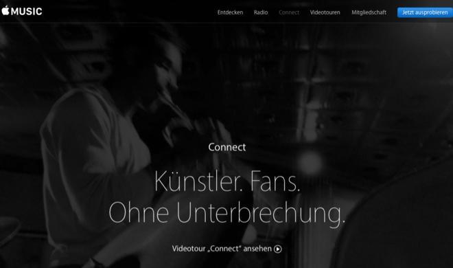 Apple Music Connect: Soziales Netzwerk kann Apple einfach nicht