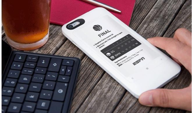 Popslate 2: E-Ink-Display fürs iPhone 6s und 6s Plus