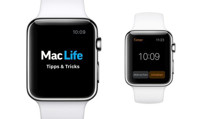 Apple-Watch-Tipp: Timer als Eieruhr 2.0