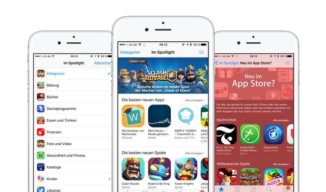 iOS-App-Store: Mehr Dynamik und aktuellere App-Vorschläge