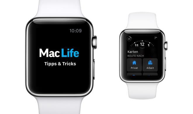 Apple-Watch-Tipp: Checks organisieren und verwalten