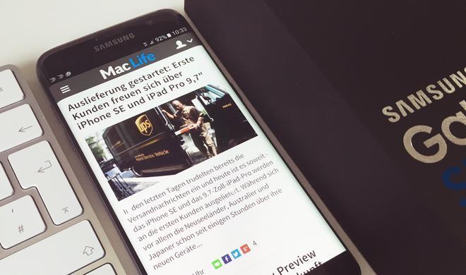 """iPhone 6s Plus und Galaxy S7 Edge im Vergleich: Die """"Champions League"""" der Smartphones"""