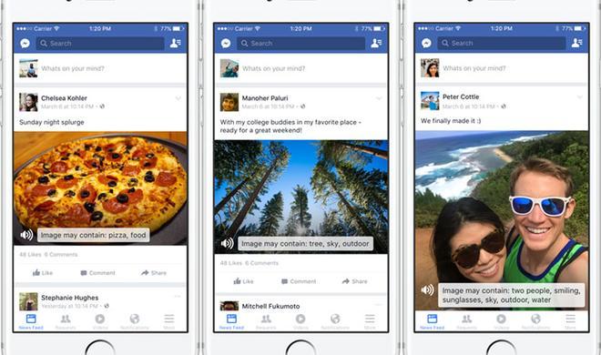 Genial: Facebook-App für das iPhone beschreibt Bildinhalte via VoiceOver
