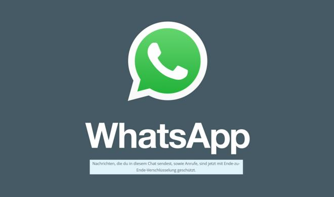 Verschlüsselt: WhatsApp jetzt garantiert sicher
