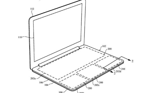 Revolutionär: Apple will Tastatur vom MacBook tastenlos machen