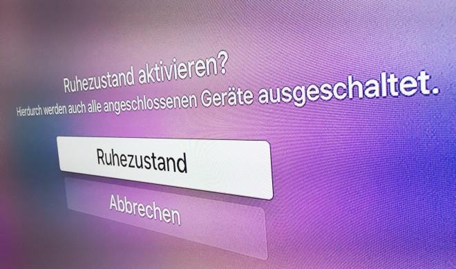 Apple TV: So hast du die volle Kontrolle über den Ruhezustand
