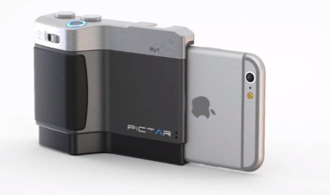Pictar: Ein iPhone-Kameragriff mit Auslöser, Selfie-Knopf und mehr