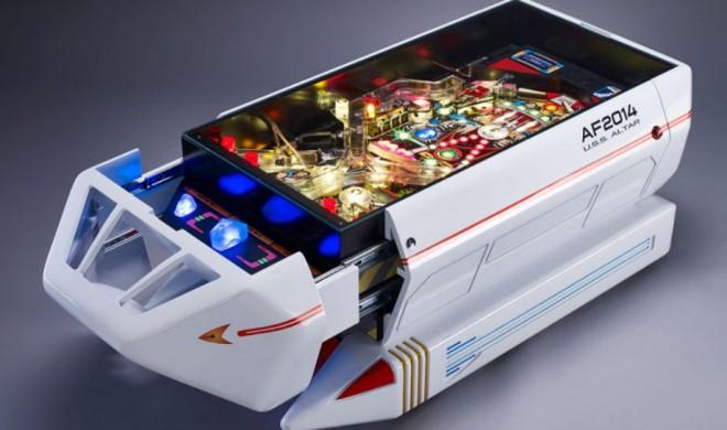 Das ultimative Nerdmöbel: Kultiger Flipper-Couchtisch im Star-Trek-Design