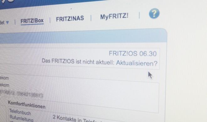 Fritz!OS 6.5 jetzt endlich für Fritz!Box 7390 erschienen