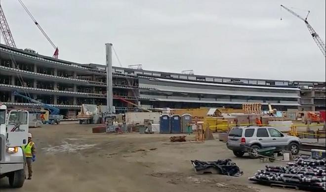 """Apple Campus 2: Mit diesem Video erlebst du die """"Spaceship""""-Baustelle aus der Egoperspektive"""