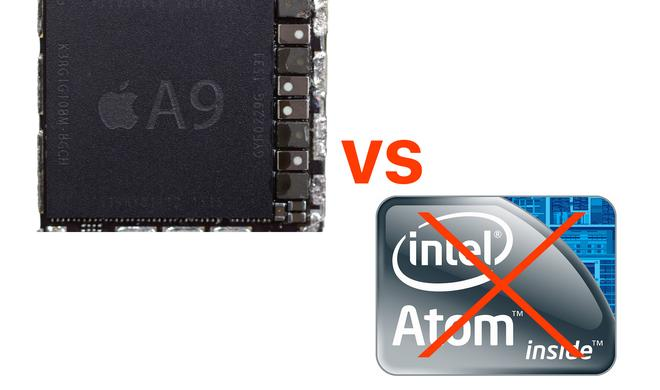 Apples A-Serie zu mächtig: Intel stellt Atom-Prozessoren ein