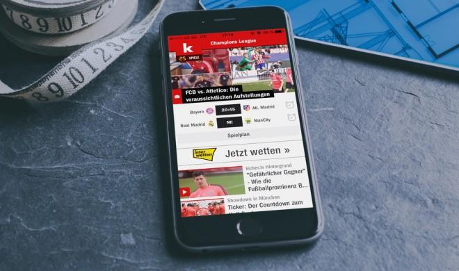 Kicker: Bundesliga-Tabelle und Live-Ticker als App - unsere Empfehlung