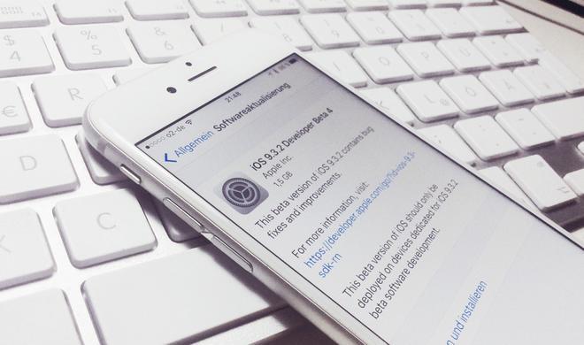 Beta-Dienstag: Apple veröffentlicht vierte Beta zu iOS 9.3.2, OS X 10.11.5 und tvOS 9.2.1