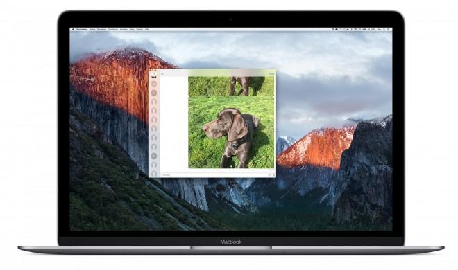 iMessage auf dem Mac zeigt Live Photos an - so geht's