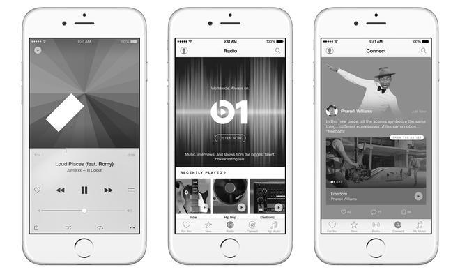 Schwarzweiß-Optik: Erste Details zum Apple Music Redesign aufgetaucht