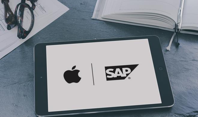 Apple und SAP wollen Arbeit mit iPhone und iPad revolutionieren