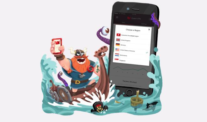Kostenlose VPN-App für iOS