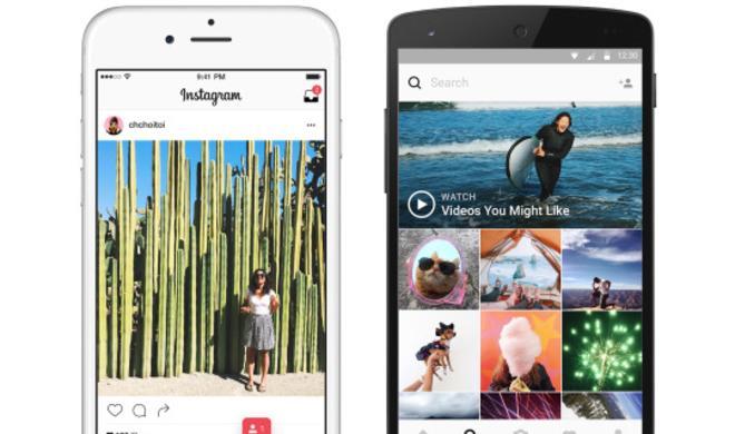 Neues Instagram-Design: App erstrahlt in neuem Glanz!