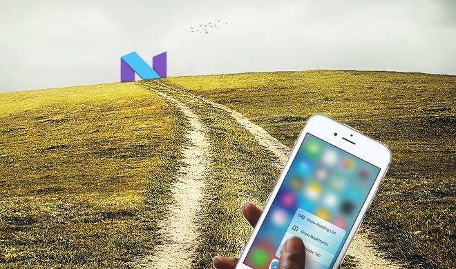 iPhone im Vorteil? Google verschiebt 3D Touch